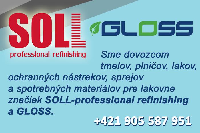 iKKolor - dovozca značiek SOLL-professional refinishing a GLOSS